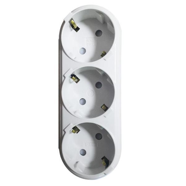 가전 콘센트 멀티탭 플러그 3구 ㄱ형 산업용 가정용