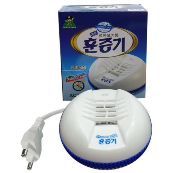 산도깨비 전기 모기향 패드 훈증기 해충용품 벌레약