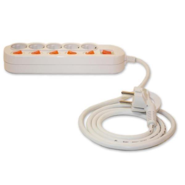 5구멀티탭 전기코드 5구스위치 멀티텝 철물 플러그
