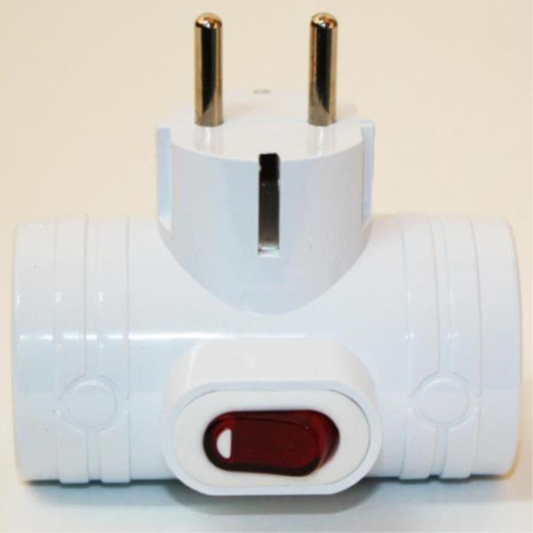 국산정품 스위치 무선 멀티탭 3구 T자형 전기용품