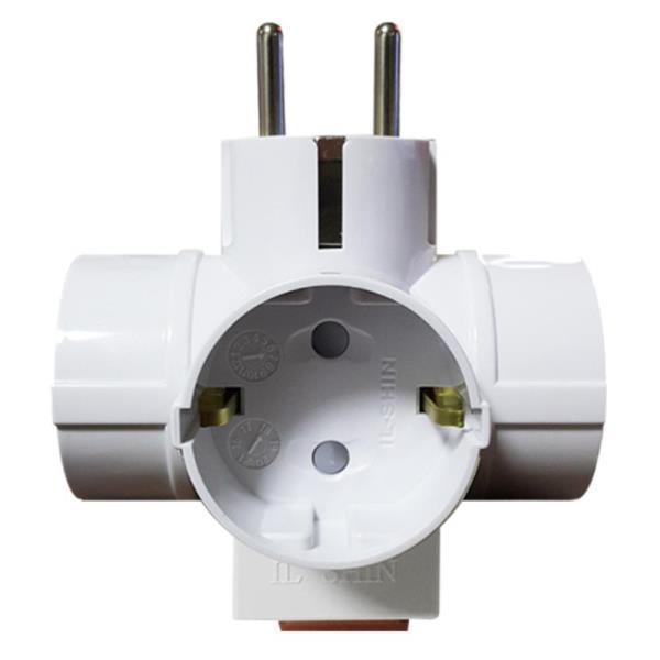 T형 3구 멀티탭 스위치 전기 콘센트 공구용품 다목적