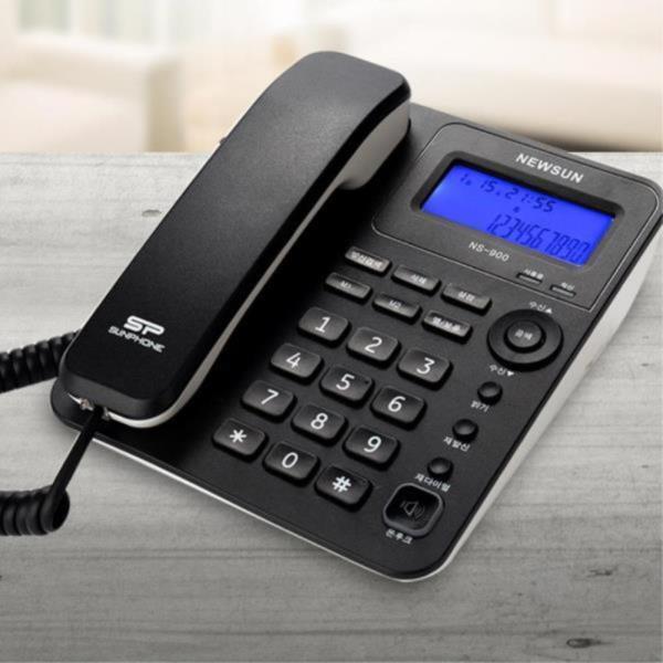 매장 유선 전화기 LCD 발신자번호 표시 업소용 사무실