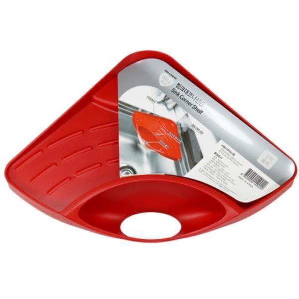 싱크대 수세미거치대 흡착형 코너 선반 다용도 주방