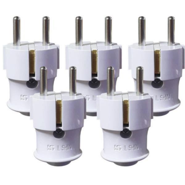 전선 연결 시공 플러그 헤드 5개 I자형 전기 철물