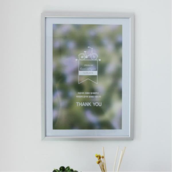 인테리어 벽걸이 액자 홍보 안내판 소형 식단 게시물
