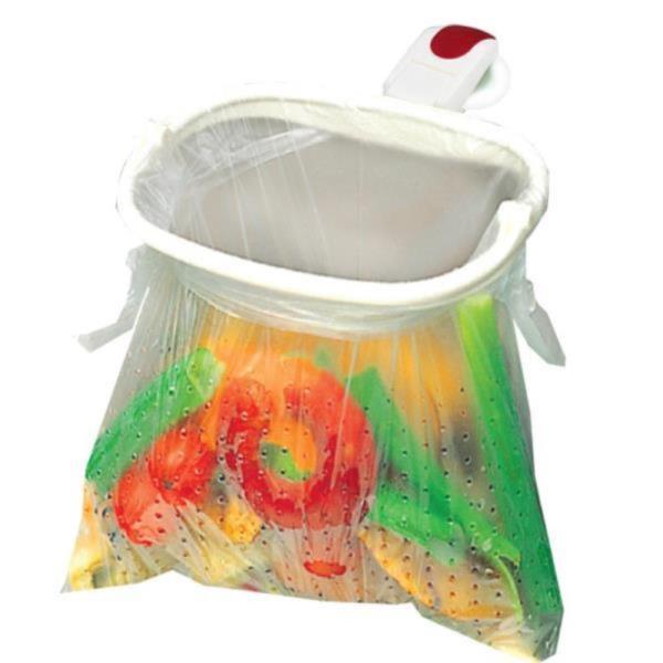 주방 싱크대 음식물 쓰레기 봉지걸이 가정용 음식처리