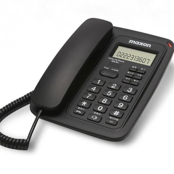 사무실 LCD 전화기 발신자표시 유선 사무용 집전화