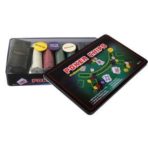 카드 포커칩 홀덤칩 휴대용 300P 세트 카지노칩 용품