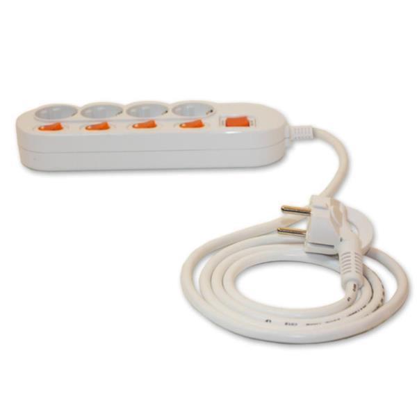4구멀티탭 멀티콘센트 4구스위치 멀티텝 전기용품