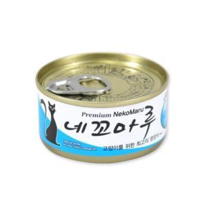 고양이 영양간식 캔 참치 치어 80g 고양이캔영양간식