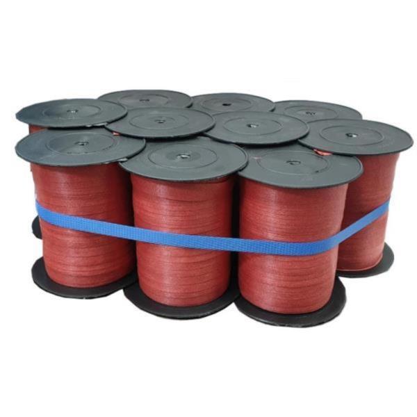 박스 포장 빨간끈 비닐 이사끈 소형 10개 타이 쿠키