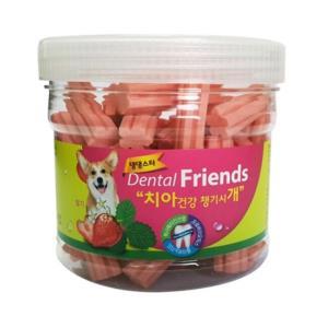 댕댕스타 덴탈 프랜드 300g(딸기)