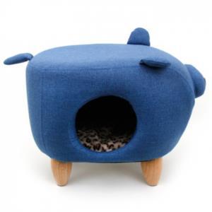 펫모닝 블루 돼지 하우스(PMC-117139-3)