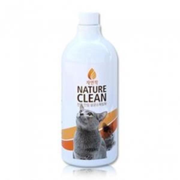 자연싹 안심살균 소독탈취제 1L (고양이)
