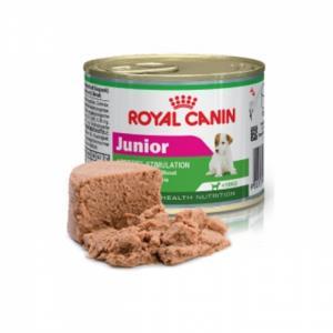 강아지습식사료 로얄캐닌 독 주니어 캔 195g
