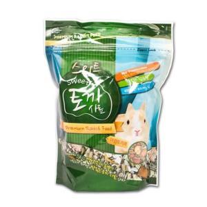 소동물사료 스위트 토끼 사료 700g(어린토끼용)