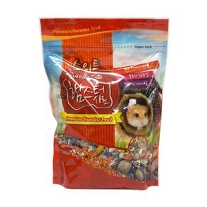 햄스터 기니피그 다람쥐 과일 채소 씨앗 간식 이갈이 먹이 펠렛 사료 밥 주식 700g