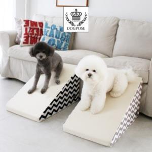 골절 및 슬개골탈구 예방 강아지 쇼파 침대 미끄럼방지 슬라이드 계단 스텝