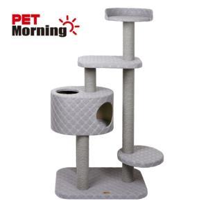 고양이 놀이터 페브릭 체크 캣타워 PMCAS318