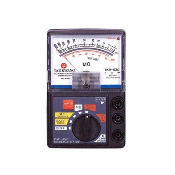 태광전자 멀티 테스터기 메가 TKM 920