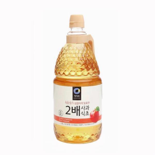 청정원 2배 사과식초 1.8L