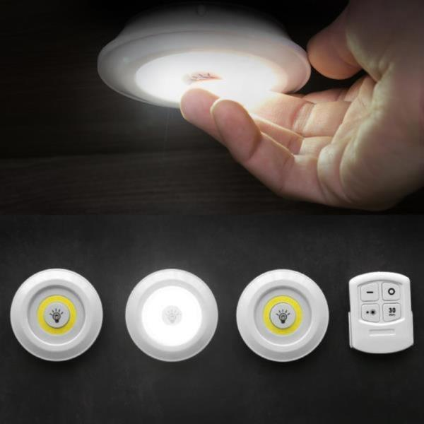 터치 LED 리모컨 무드등수유등