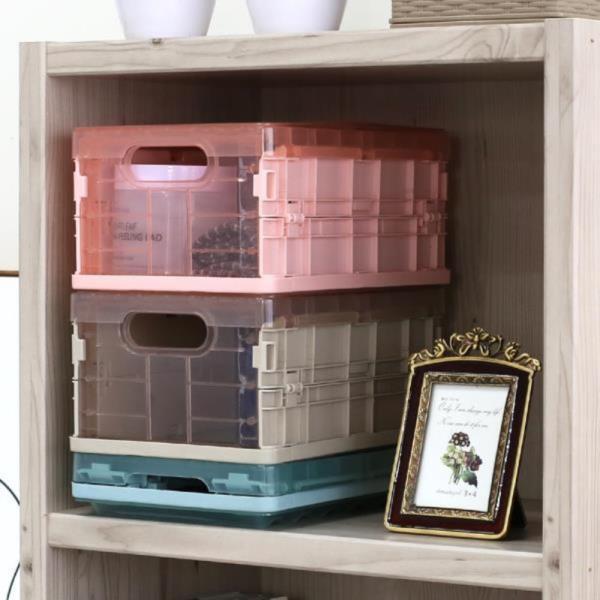 오버랩 폴딩 박스(소) 3color