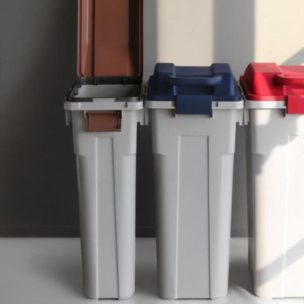 슬림 펌 휴지통 분리수거함 대용량 쓰레기통