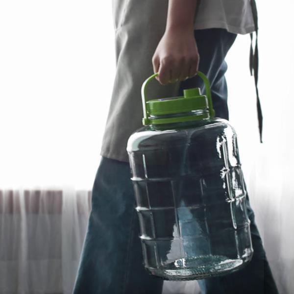 심플한 과일청병 쨈병 가스배출 보관용기