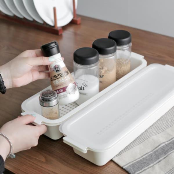 주방용품 보관밀폐용기 정리함 클린 냉장고정리함 멀티트레이