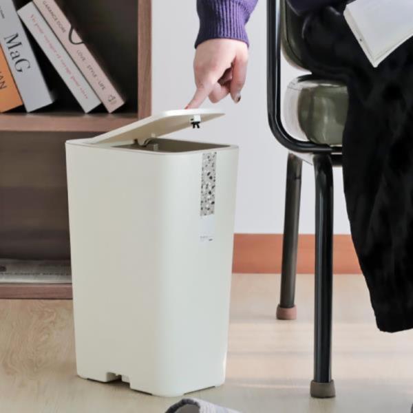 욕실 화장실 휴지통 쓰레기통 주방 인테리어 10L☆