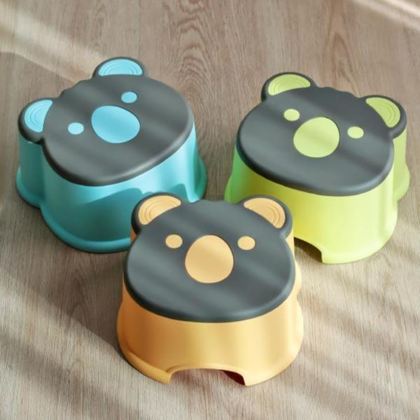 동물 욕실의자 어린이의자 스툴 4type (소)
