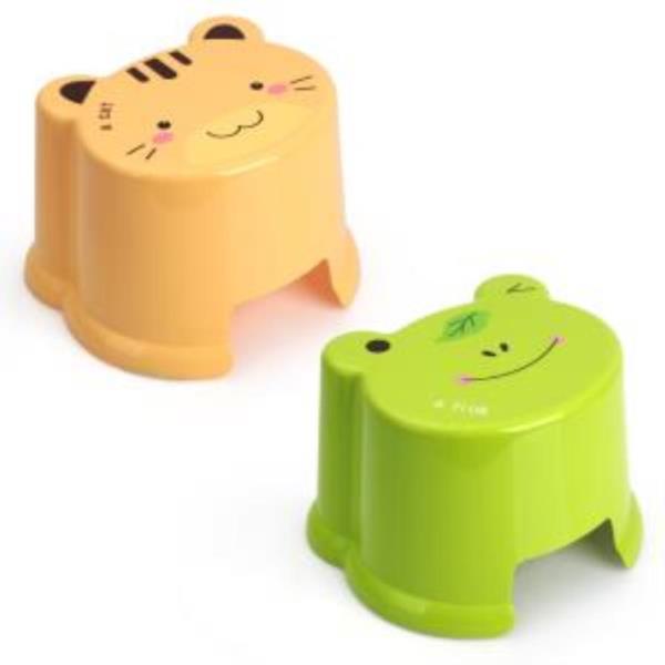동물 욕실의자 어린이의자 스툴 개구리 고양이 (대)