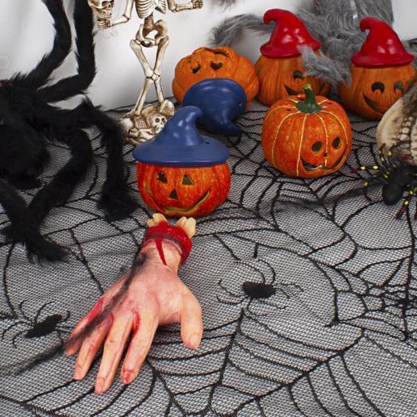 할로윈 테이블보 (거미줄 240cm X120cm) 3개