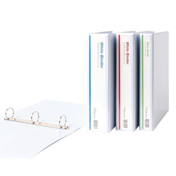백색 투명3공O링 바인더 A4 5cm_MOO