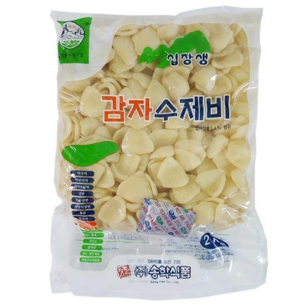 DS030/송학 감자수제비 2kg
