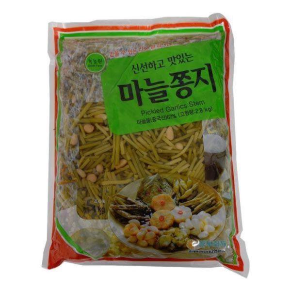 T00264/한영 녹농원 마늘쫑지4kg