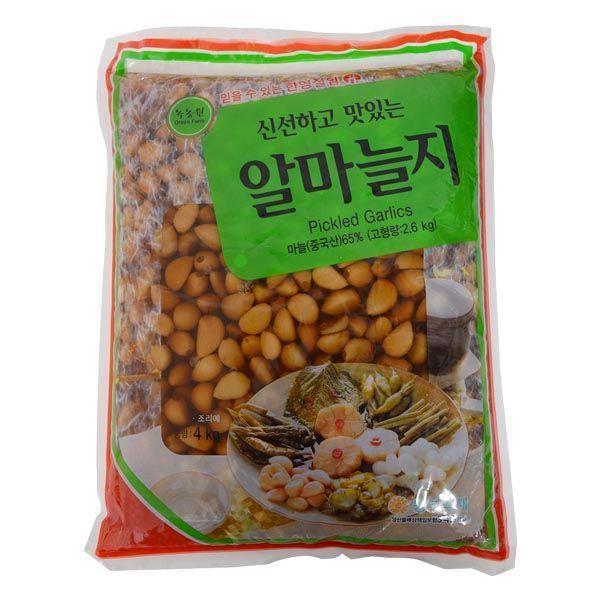 T00266/한영 녹농원 알마늘지4kg