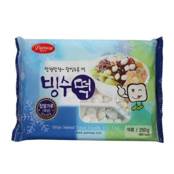 팥모아 빙수떡250g2개