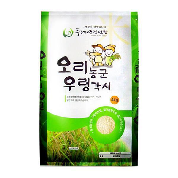 두레생협 칠분도미(4kg/유기/강원)