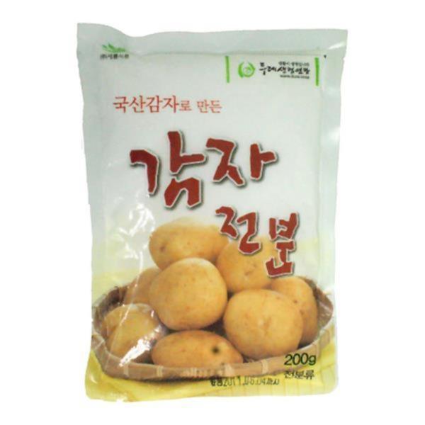 두레생협 감자전분(200g)2개