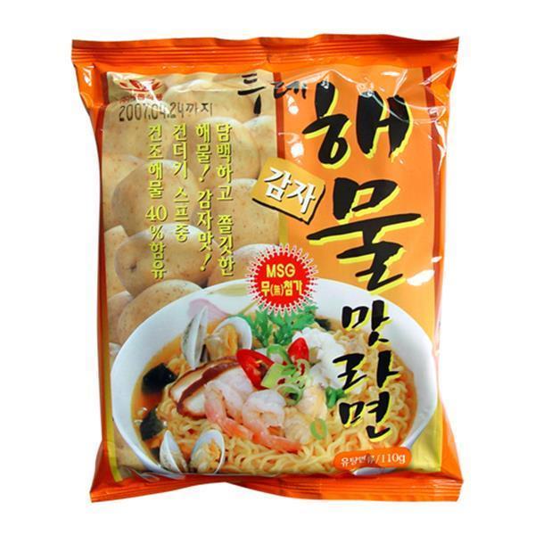 두레생협 감자라면(해물맛)4개