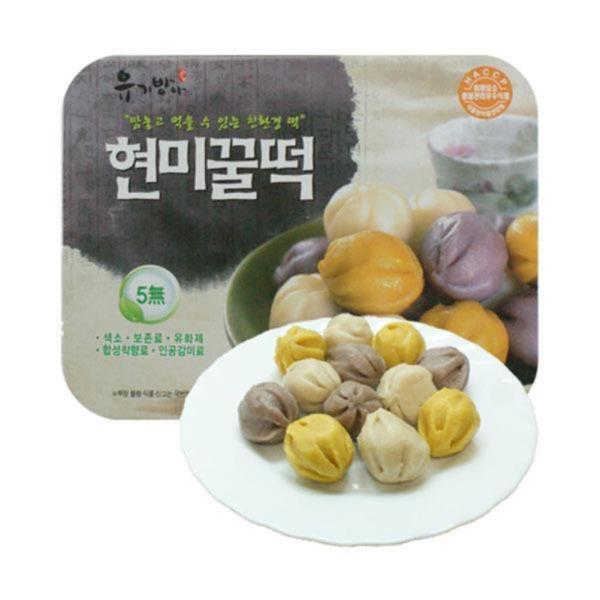 두레생협 현미꿀떡(240g)2개