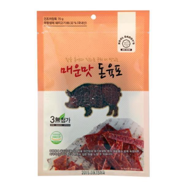 두레생협 매운맛 돈육포(70g)