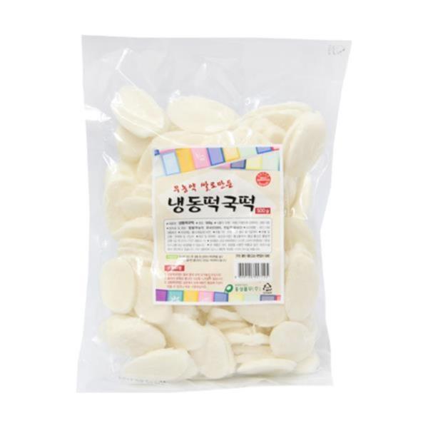 두레생협 냉동떡국떡(500g)2개