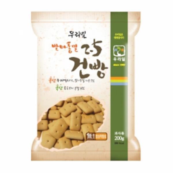 두레생협 우리밀발아통밀2.5건빵(200g)2개