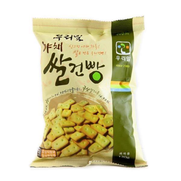 두레생협 우리밀야채쌀건빵(120g)2개