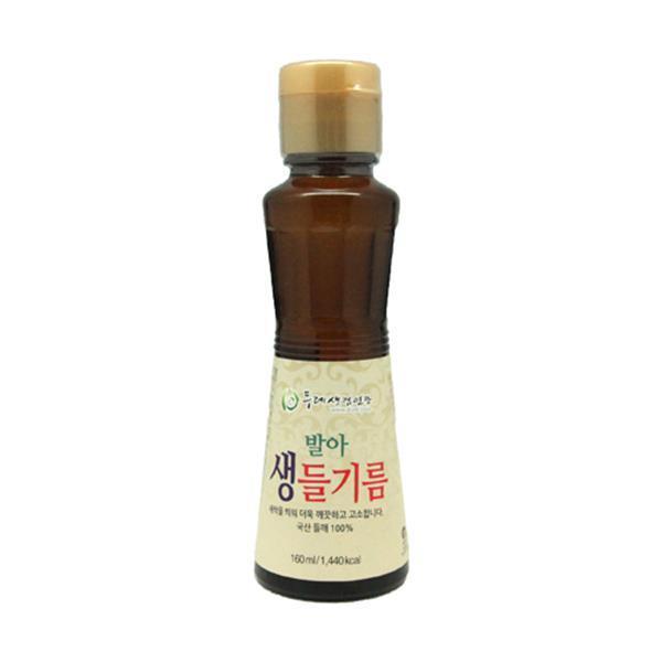 두레생협 두레발아생들기름(160ml)