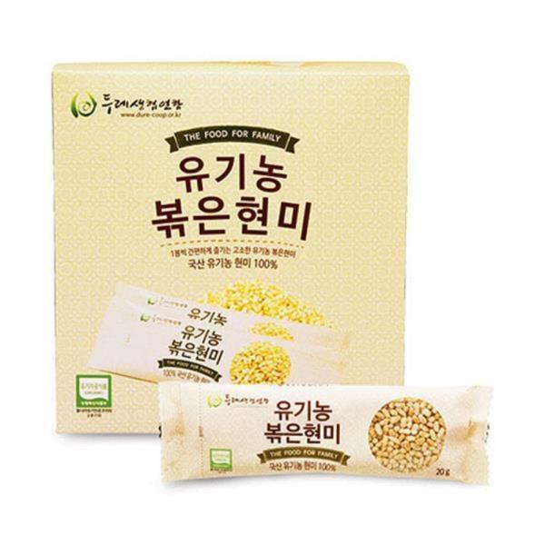 두레생협 유기농볶은현미(20g*15봉)