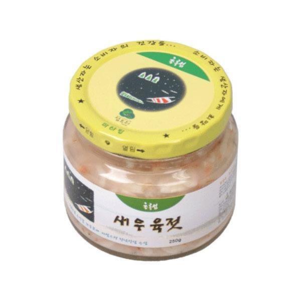 두레생협 새우육젓(250g/국산)